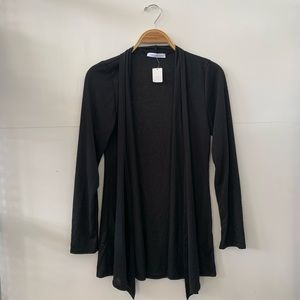 Chris & Carol Black Cardigan